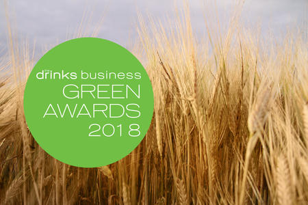 Barley field and green awards logo